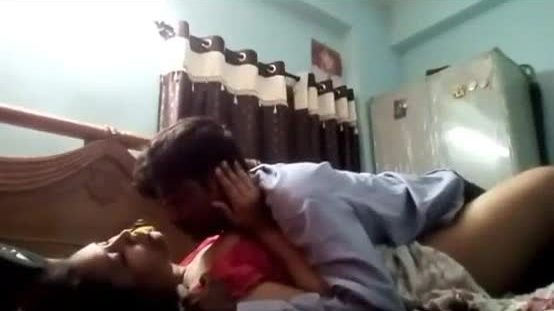 Indian gf bf romance in home