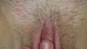 Me fingering my pussy