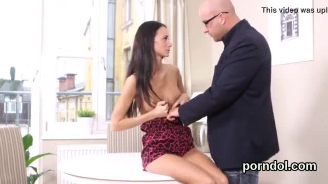 Nice young girl gets teased and fucked