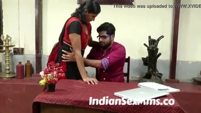 See hot indian secretary and her boss
