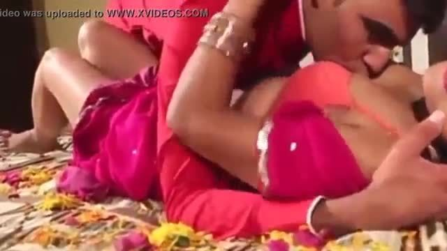 Erotic first night sex of a desi couple