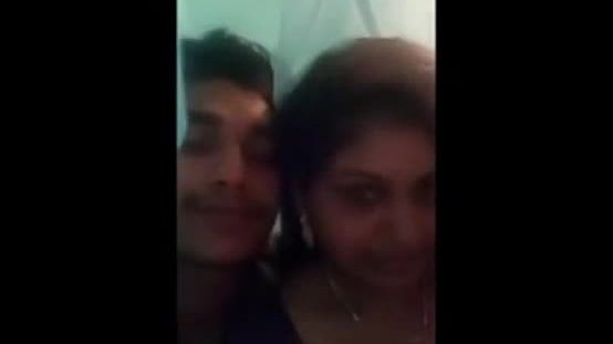 Indian aunty home sex with secret lover