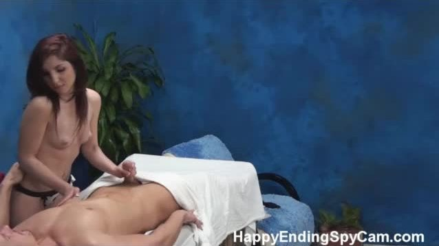 Massages taking client into sex mood
