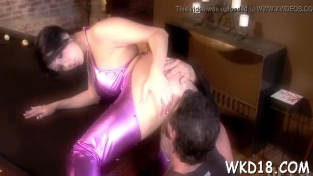 Three men fuck on girl