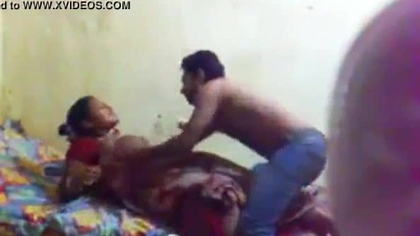 Mallu aunty affair with young boy