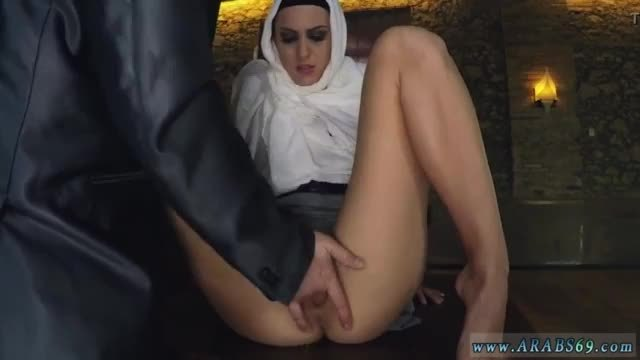 Cock fuck arab hungry woman gets food and fuck