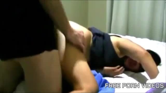 Indian sex scandal sex tape of a buxom sweetie riding penis